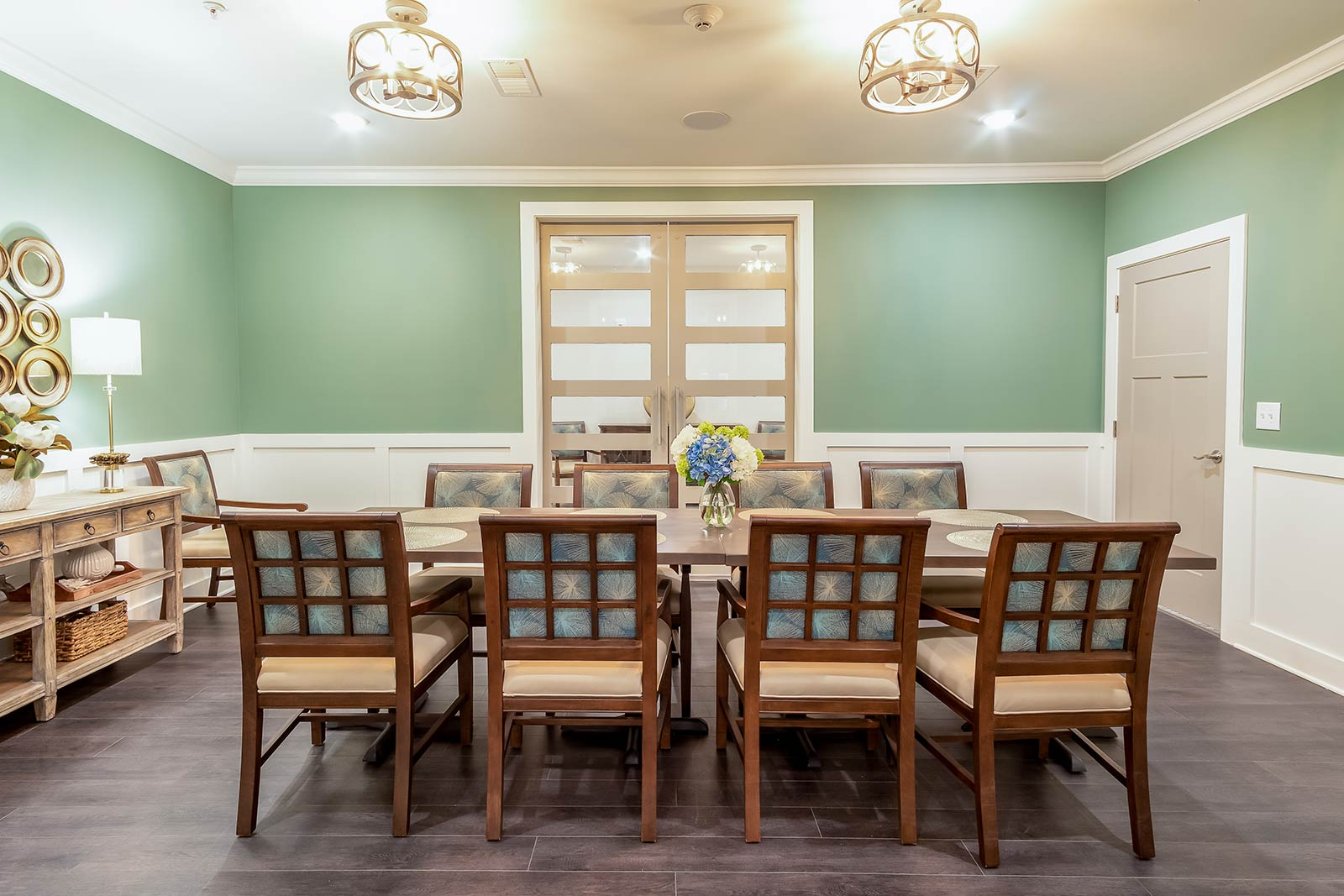 Private Dining Room For Special Occasions In Our Warner Robins GA Assisted Living And Memory Care Community
